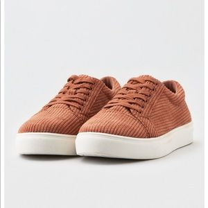 American Eagle corduroy sneakers